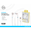 优质TYPE-C耳机 KM-U008  Auriculares Con Microfono A TYPE-C
